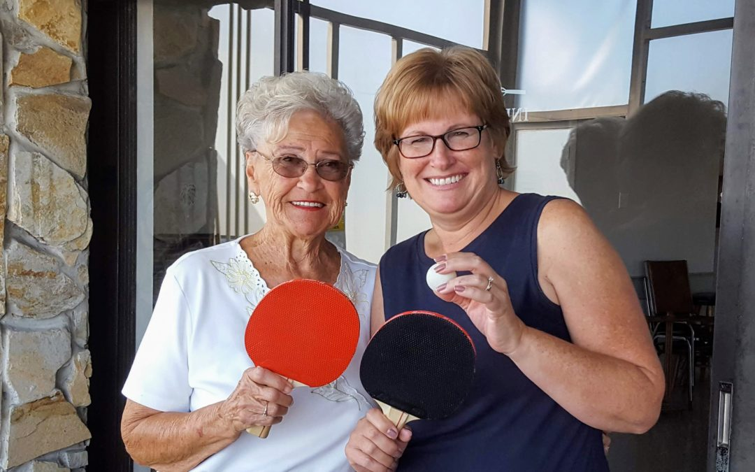 Ping-Pong and My Future Self